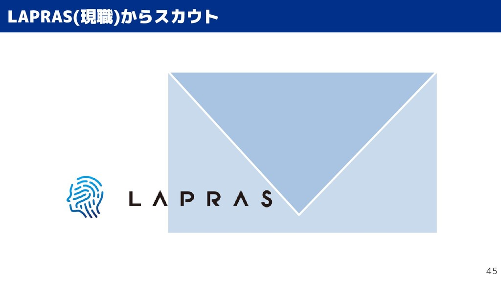 45 LAPRAS(Stapy)現職)から生き方がかわっスカウトの仕事