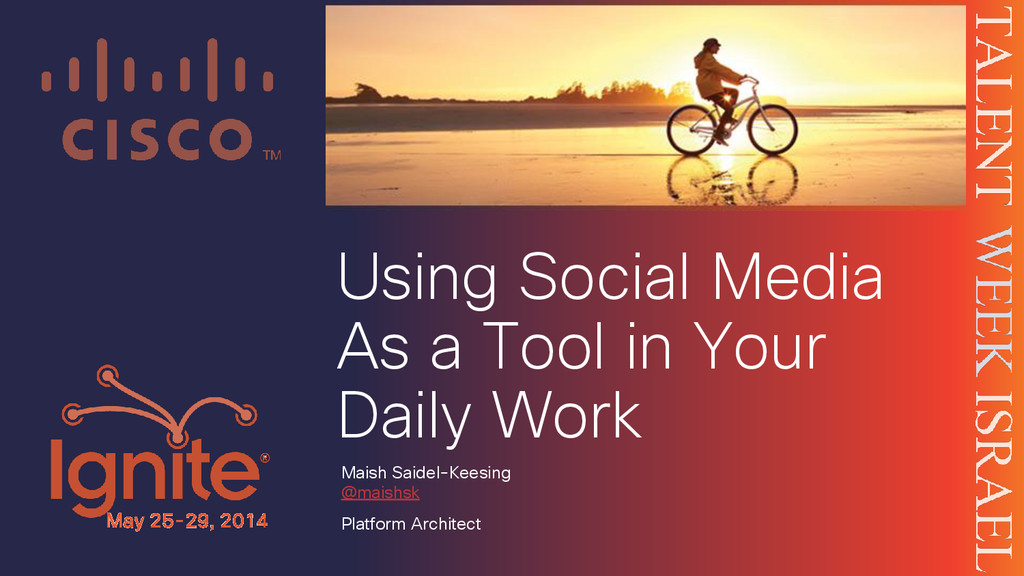 Using Social Media As a Tool in Your Daily Work...