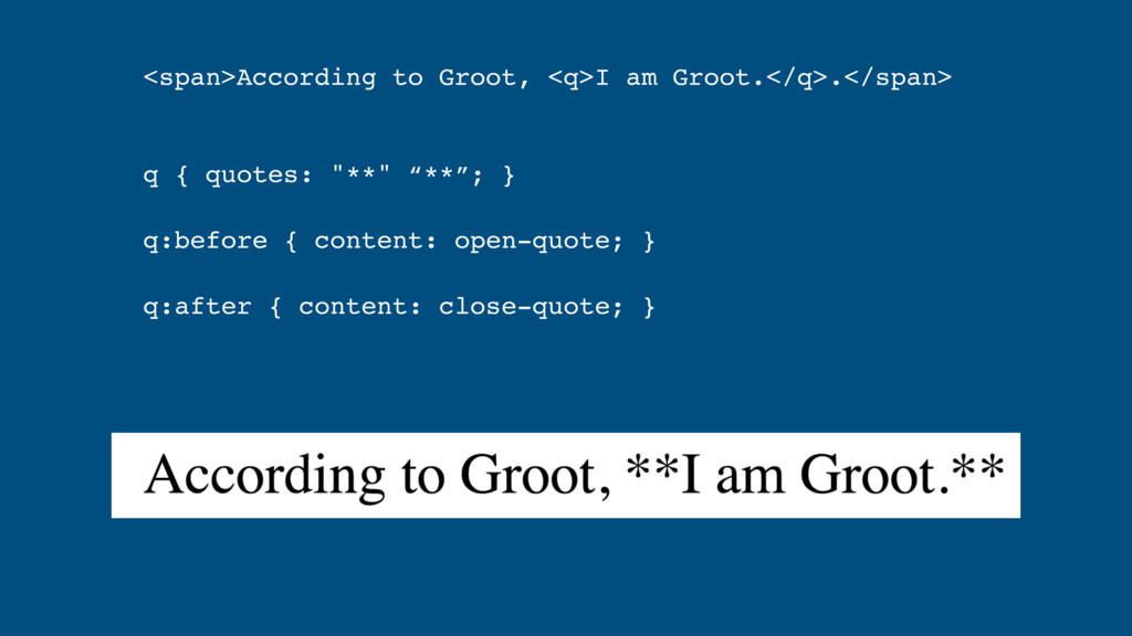 <span>According to Groot, <q>I am Groot.</q>.</...