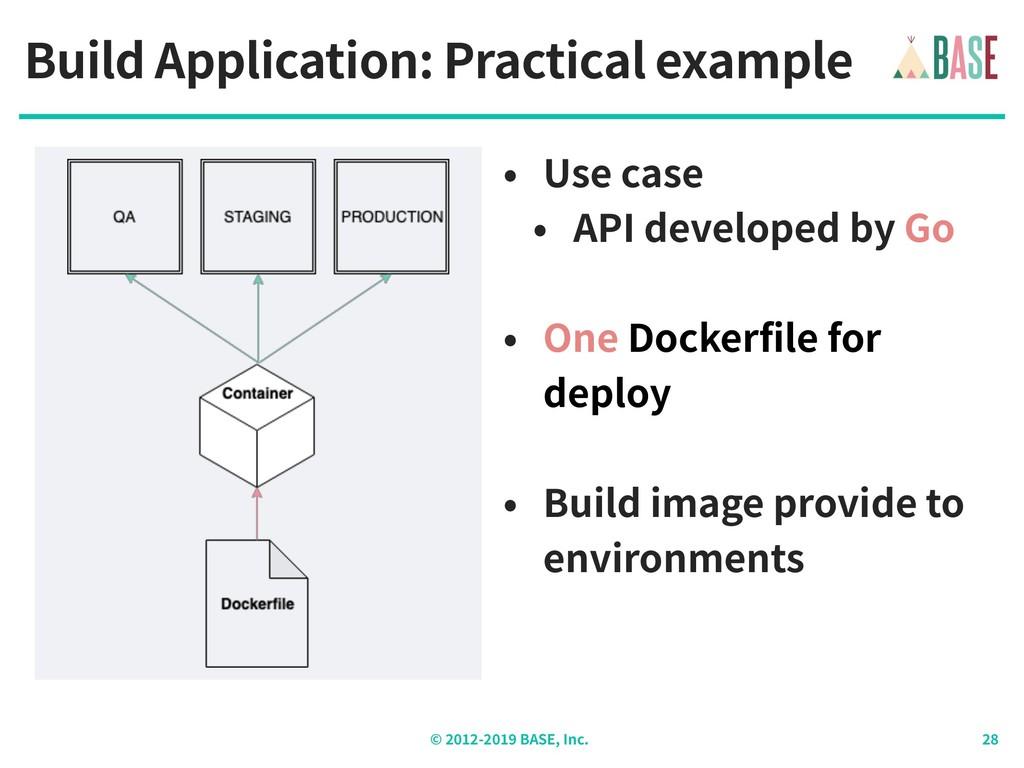 © - BASE, Inc. Build Application: Practical exa...