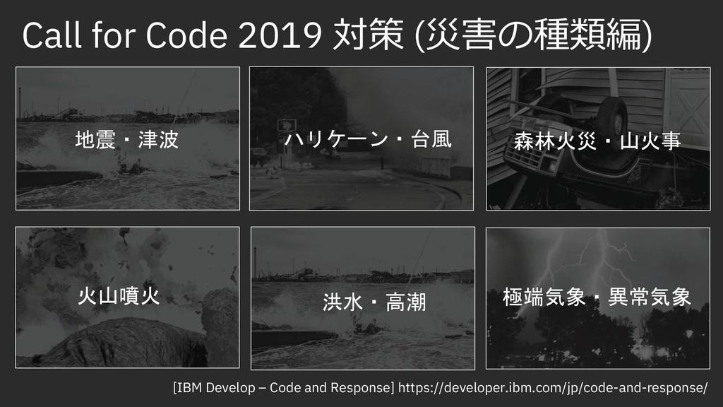 Call for Code 2019 ÚĞ (ƸśmƍƧƯ) e¤O†… =I,PMO`§ ...