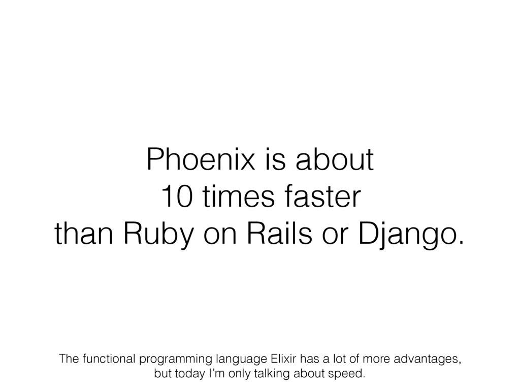 Phoenix is about 