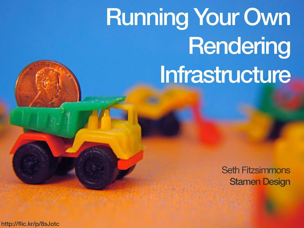 Running Your Own Rendering Infrastructure Seth ...