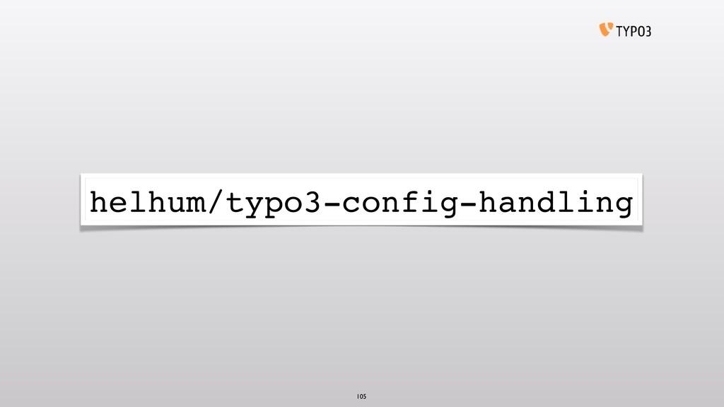 helhum/typo3-config-handling 105