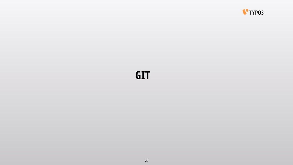 GIT 26