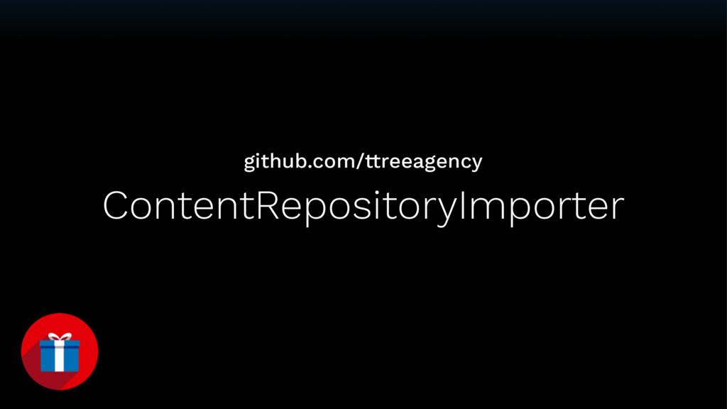 ContentRepositoryImporter github.com/ttreeagency