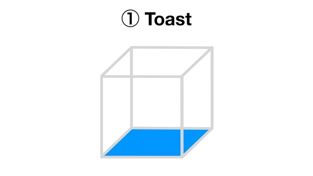 ᶃ Toast