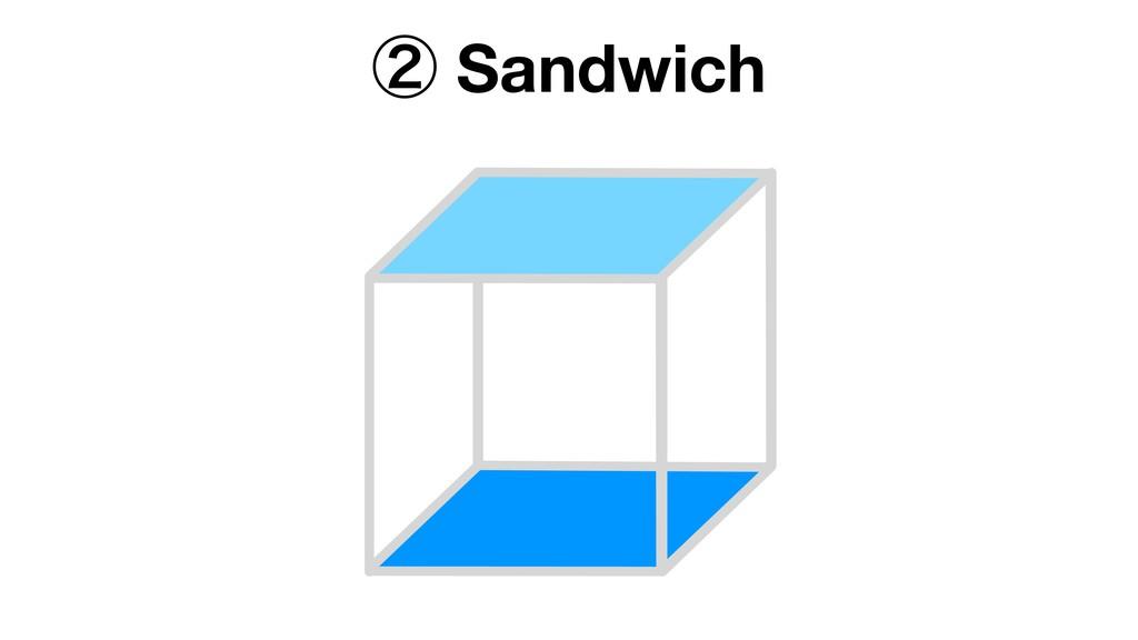 ᶄ Sandwich