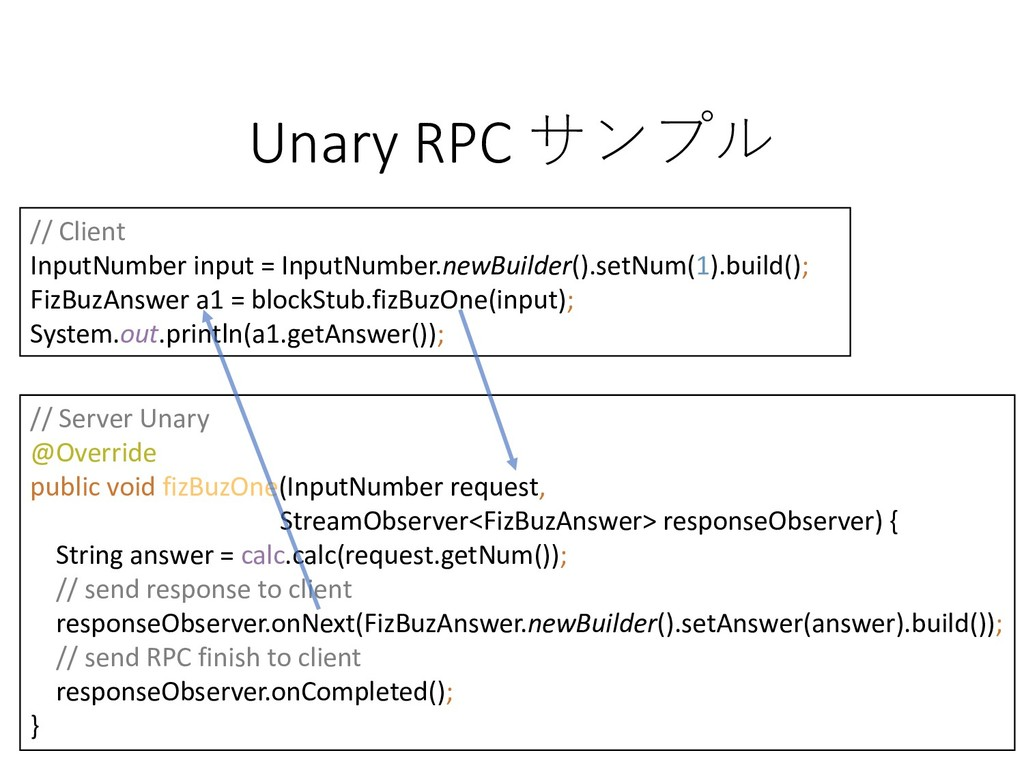 27 Unary RPC  LINE Developer Meetup #54 in ...