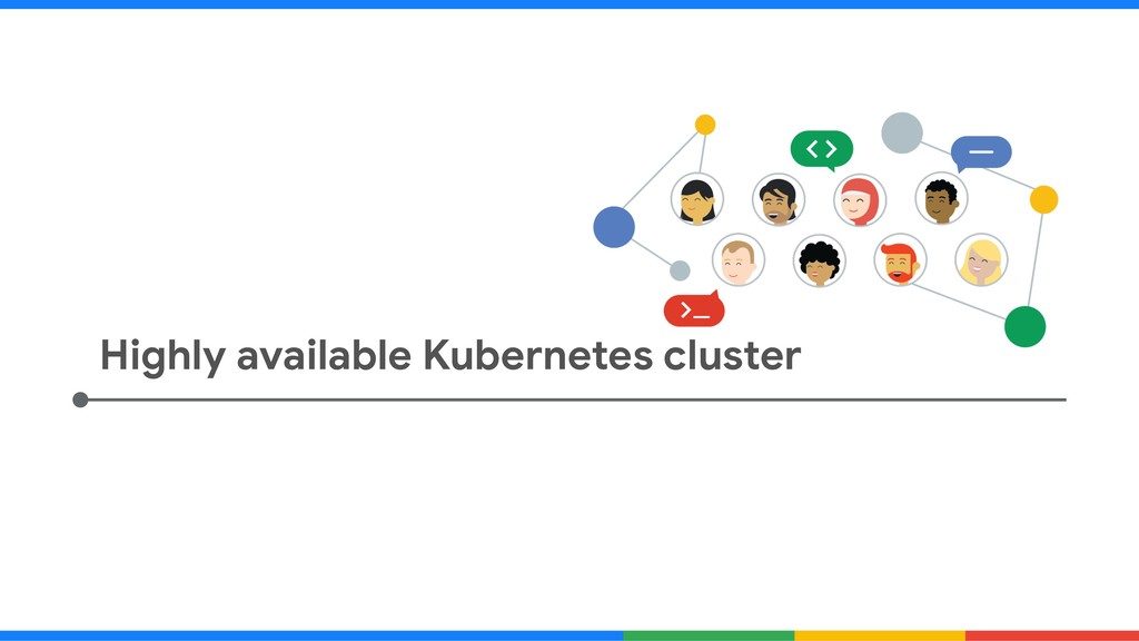 Highly available Kubernetes cluster