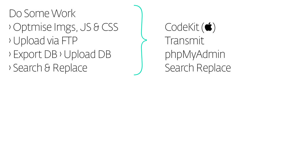 Do Some Work › Optmise Imgs, JS & CSS › Upload ...