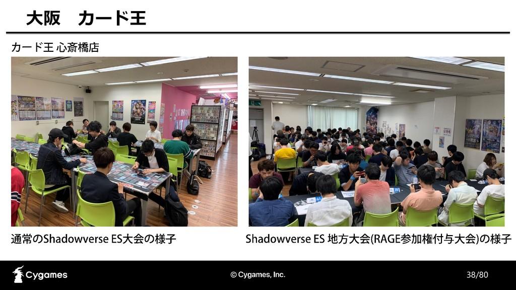 38/80 大阪 カード王