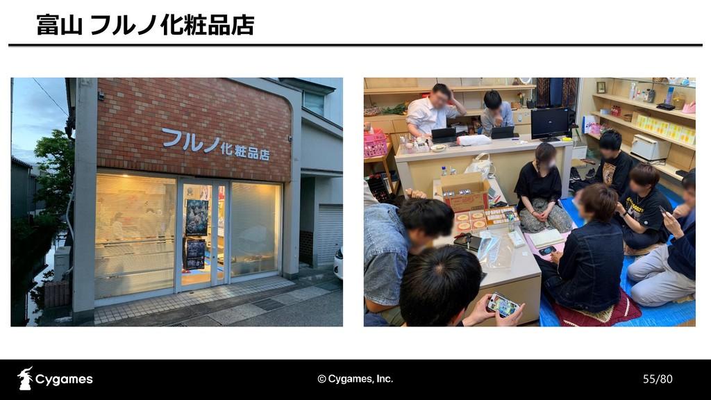 55/80 富山 フルノ化粧品店