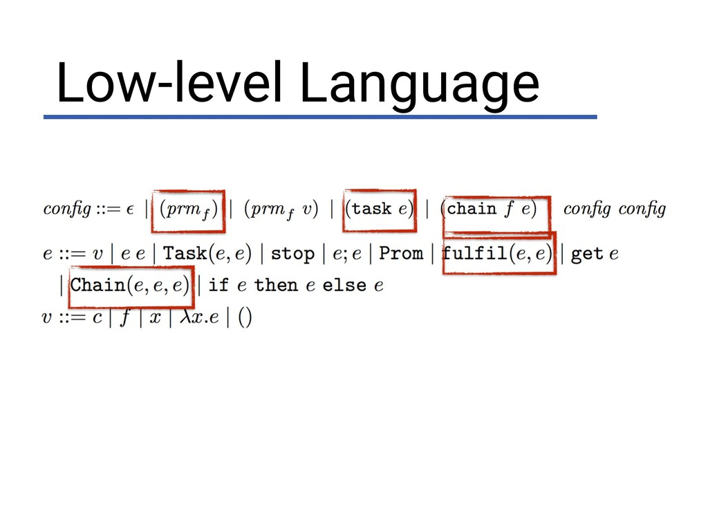 Low-level Language