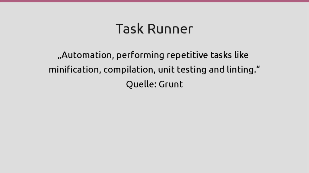 "Task Runner ""Automation, performing repetitive ..."