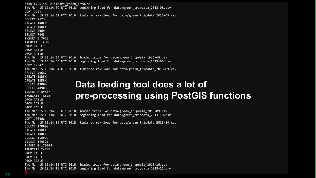 12 Data loading tool does a lot of pre-processi...