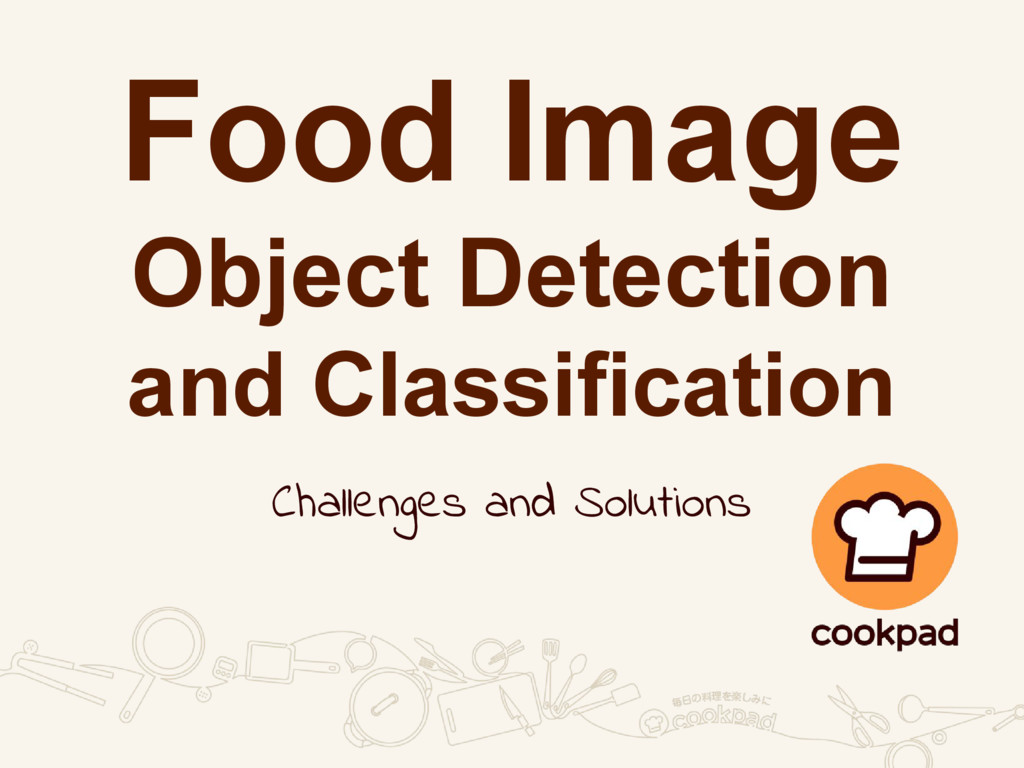 Food Image Object Detection and Classification ...