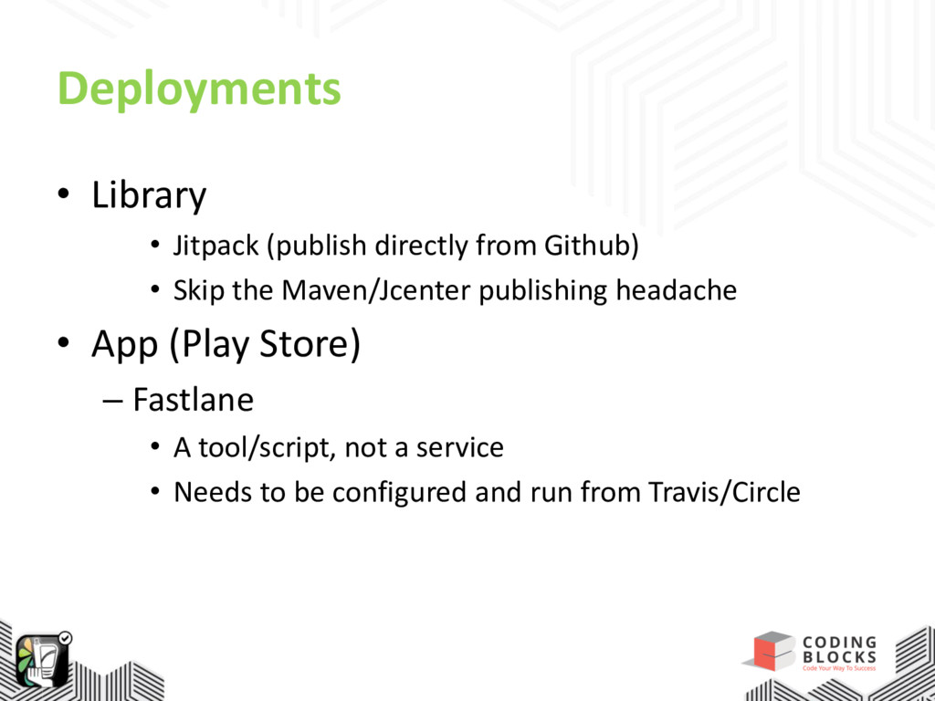 Deployments • Library • Jitpack (publish direct...
