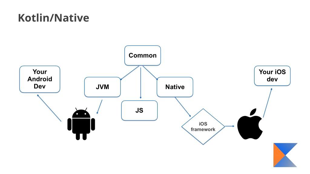 Kotlin/Native Common JVM Native iOS framework Y...