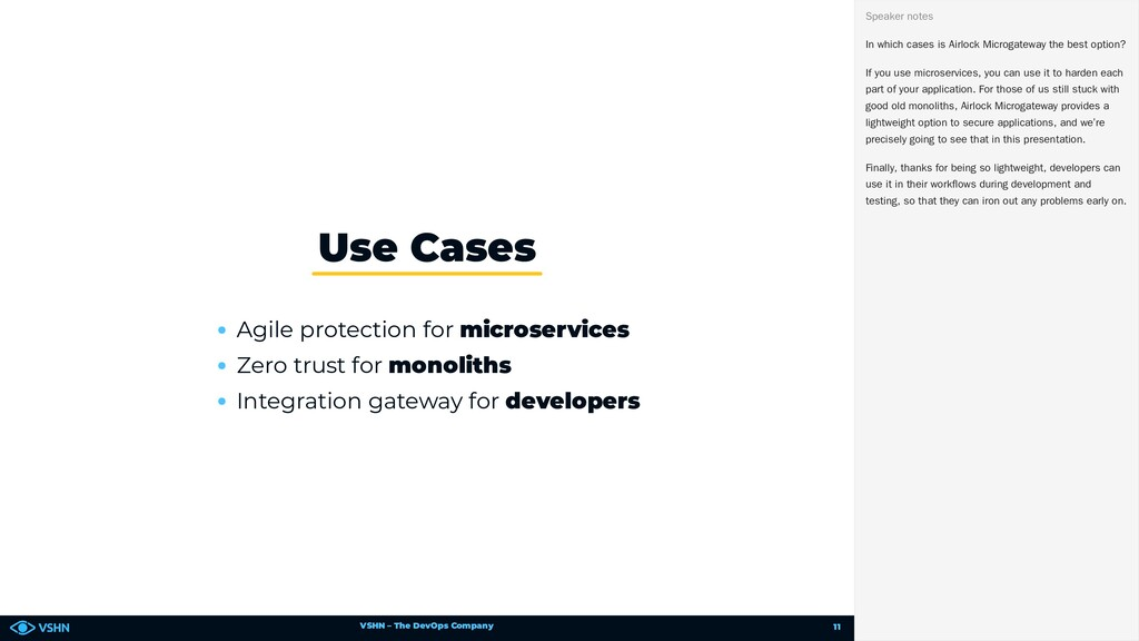 VSHN – The DevOps Company Agile protection for ...
