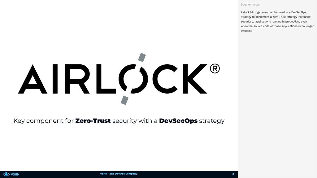 VSHN – The DevOps Company Key component for Zer...