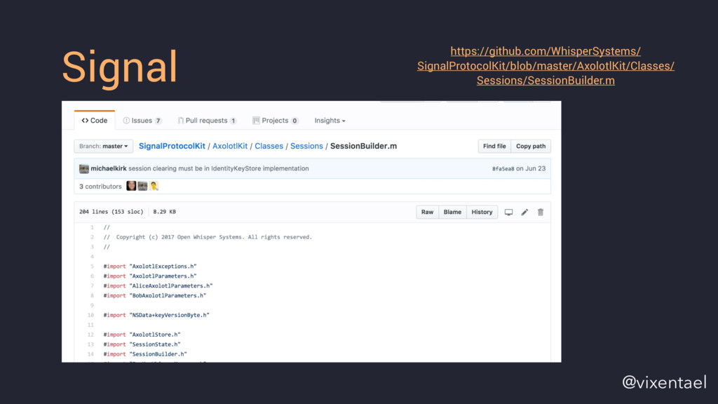 Signal https://github.com/WhisperSystems/ Signa...