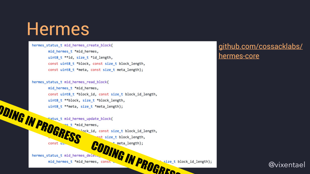 Hermes github.com/cossacklabs/ hermes-core ODIN...