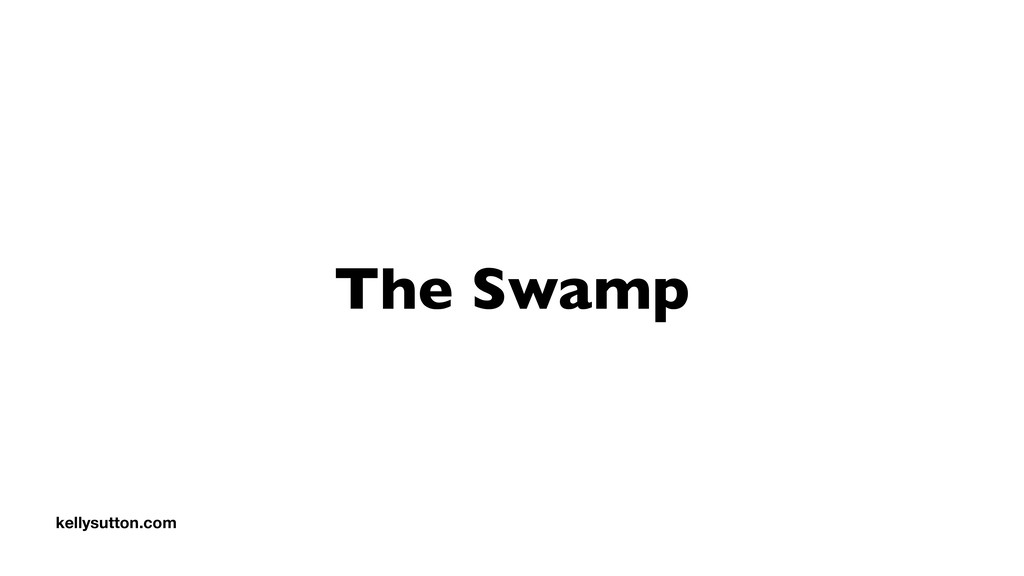 The Swamp kellysutton.com