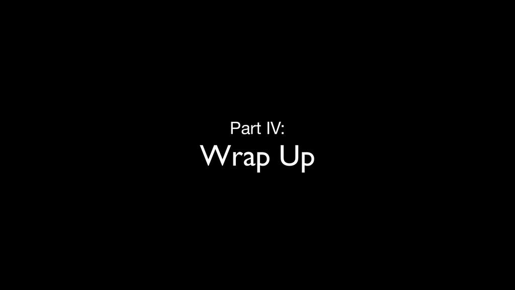 Part IV:  Wrap Up kellysutton.com