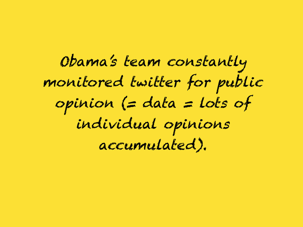 Obama's team constantly monitored twitter for p...