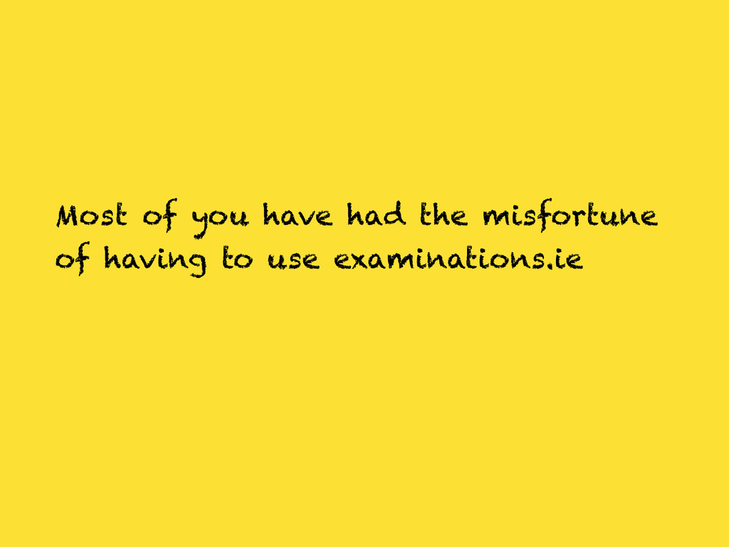 Most of you have had the misfortune of having t...