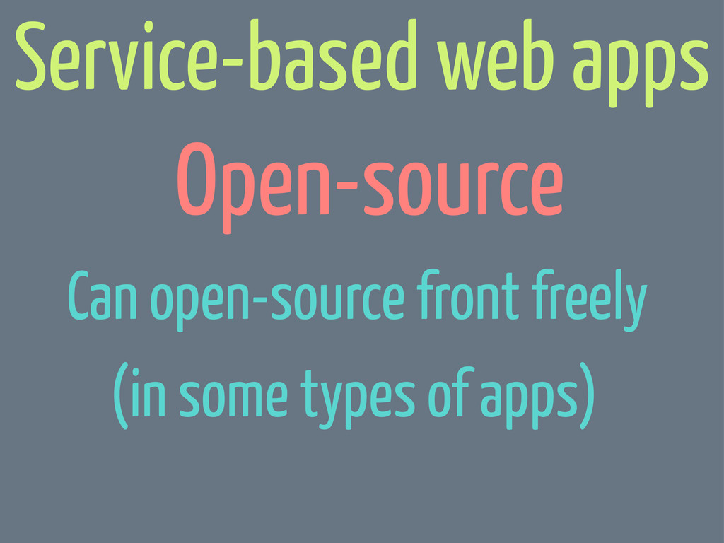 Open-source Can open-source front freely (in so...