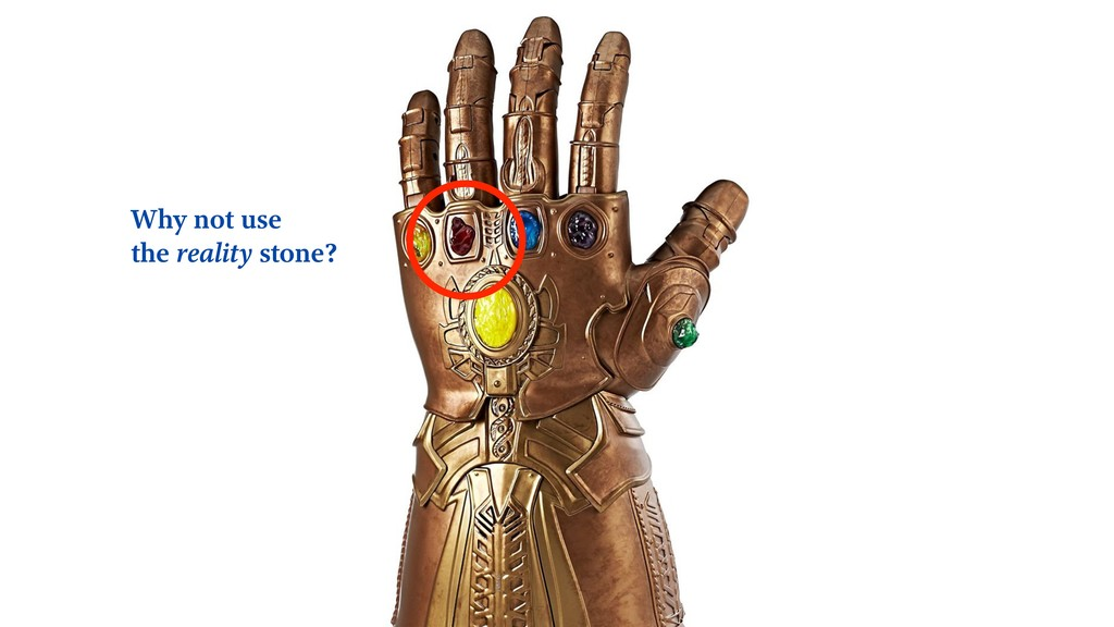 Why not use