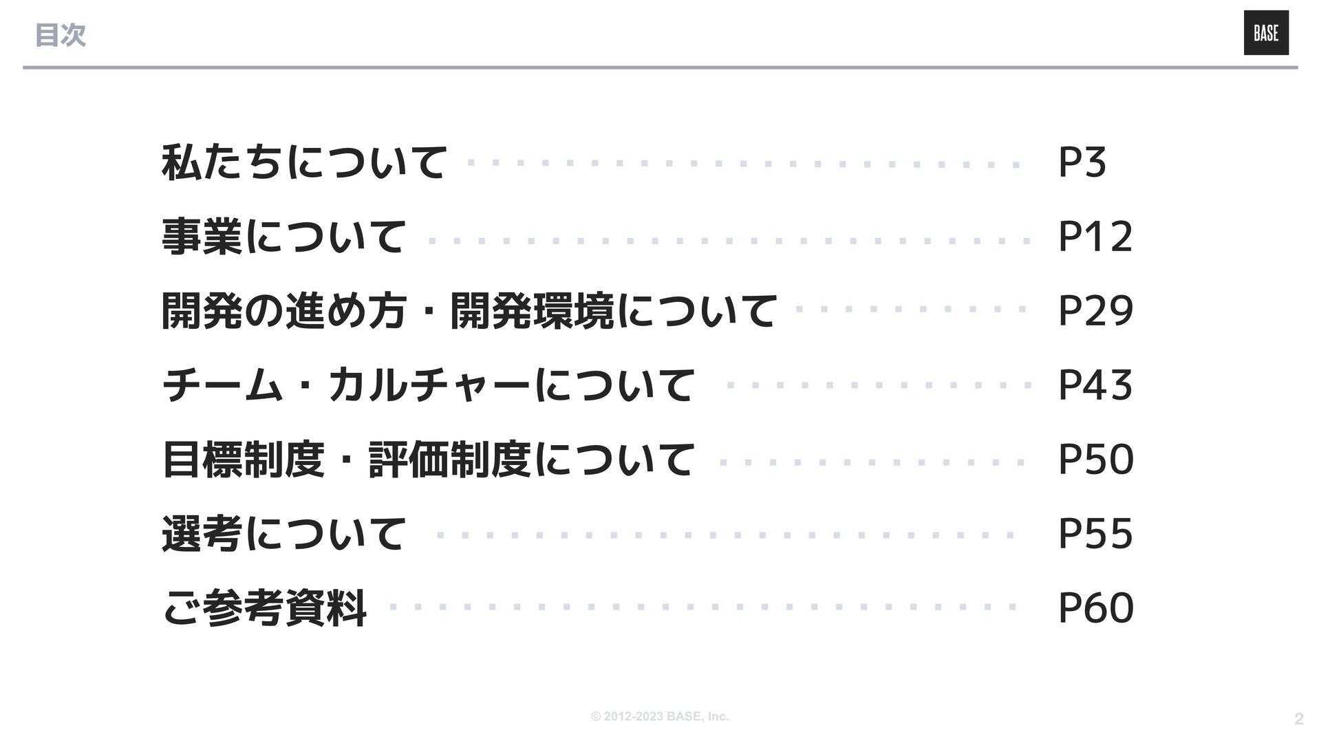 © 2012-2020 BASE, Inc. 私たちについて Eコマースプラットフォーム「BA...