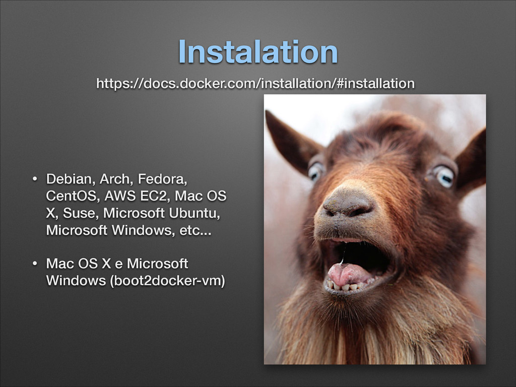 Instalation • Debian, Arch, Fedora, CentOS, AWS...