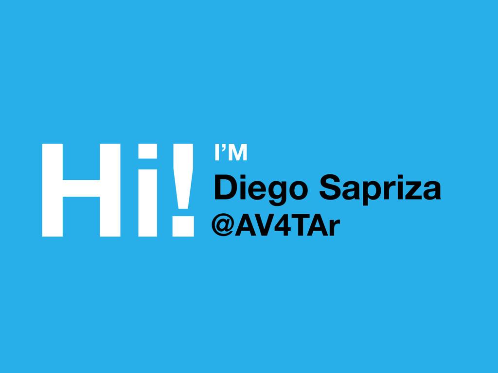Hi!Diego Sapriza I'M @AV4TAr