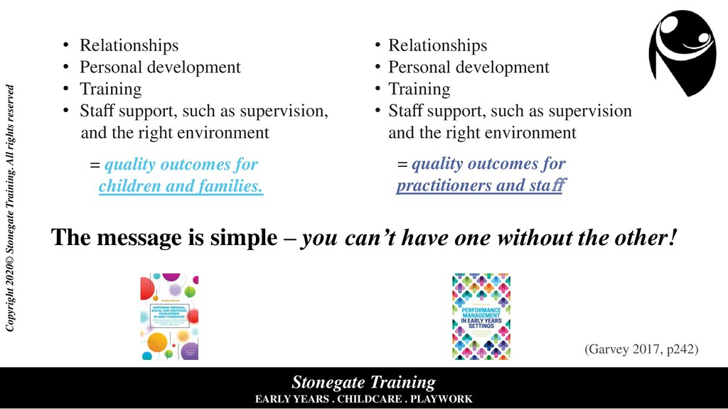 Stonegate Training EARLY YEARS . CHILDCARE . PL...