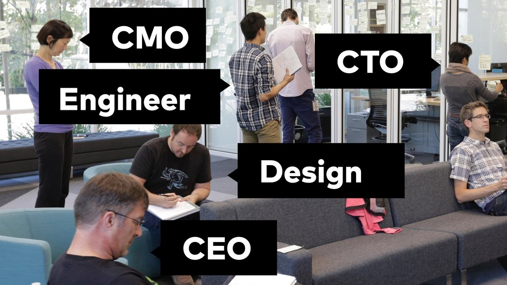 Design CEO CMO CTO Engineer