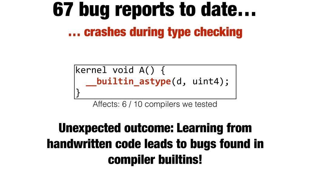 kernel void A() { __builtin_astype(d, uint4); }...