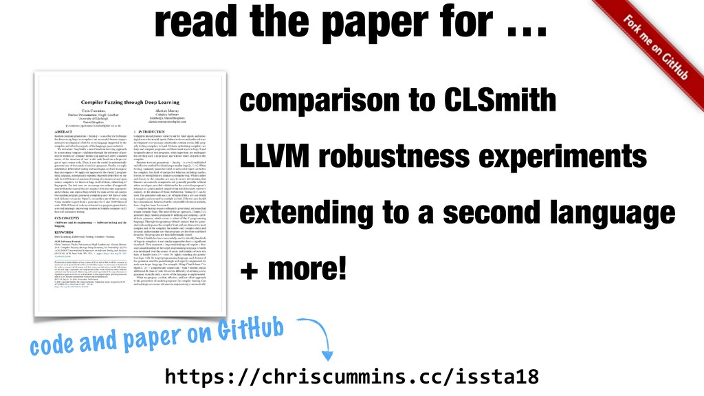 comparison to CLSmith LLVM robustness experimen...