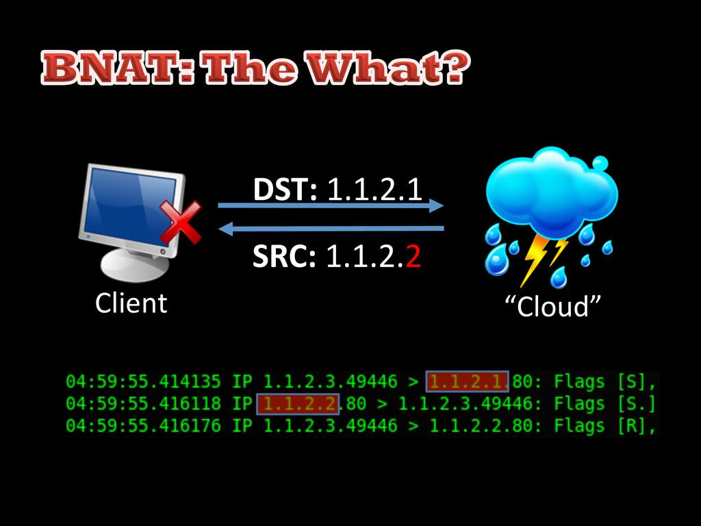 DST: 1.1.2.1  SRC: 1.1.2.2  Client...