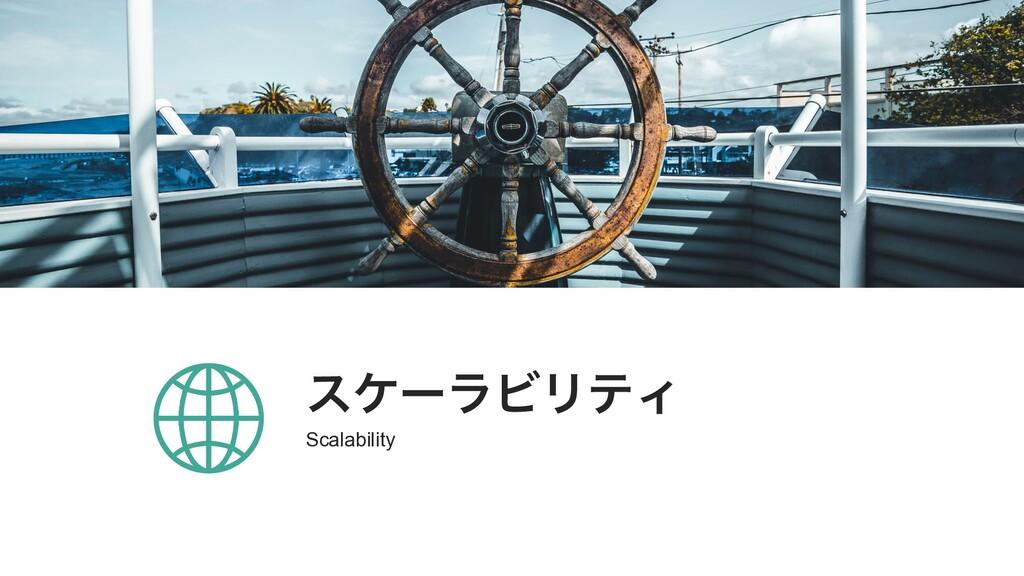 εέʔϥϏϦςΟ Scalability