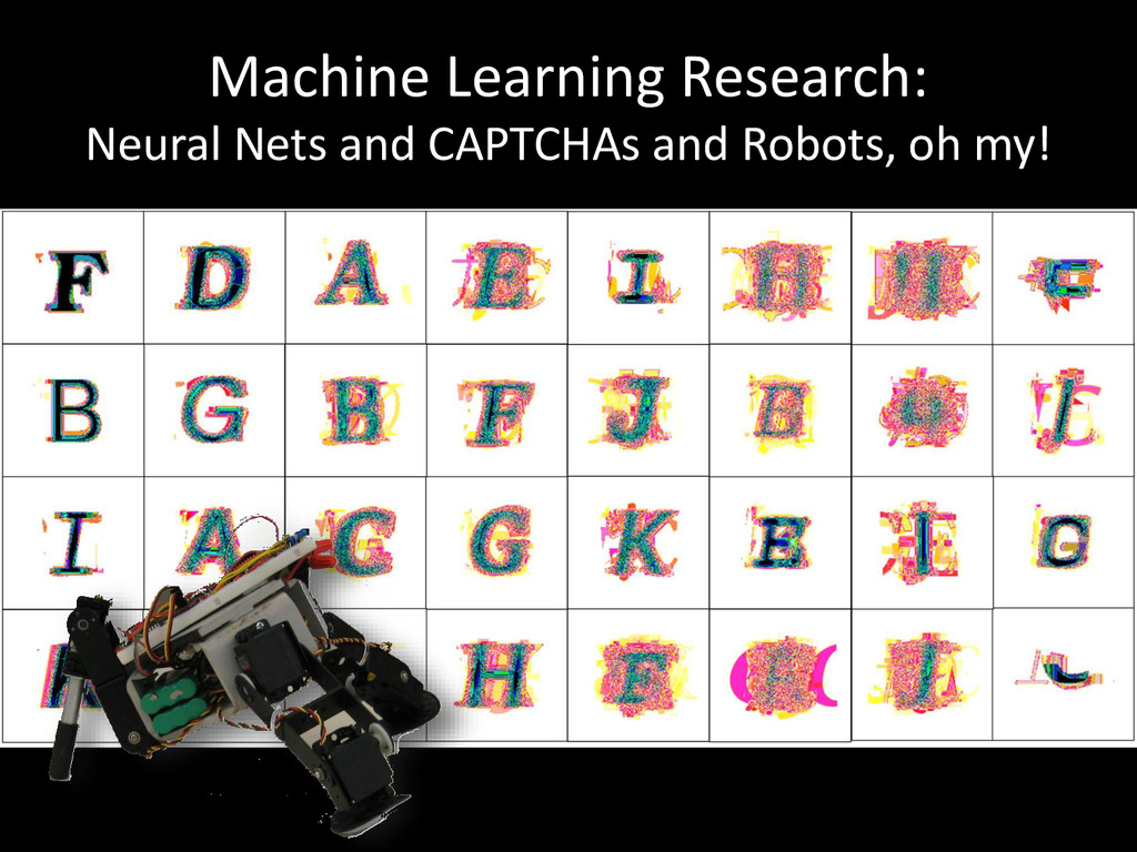 Machine Learning Research: Neural Nets and CAPT...