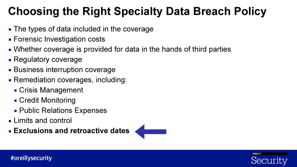 Choosing the Right Specialty Data Breach Policy...
