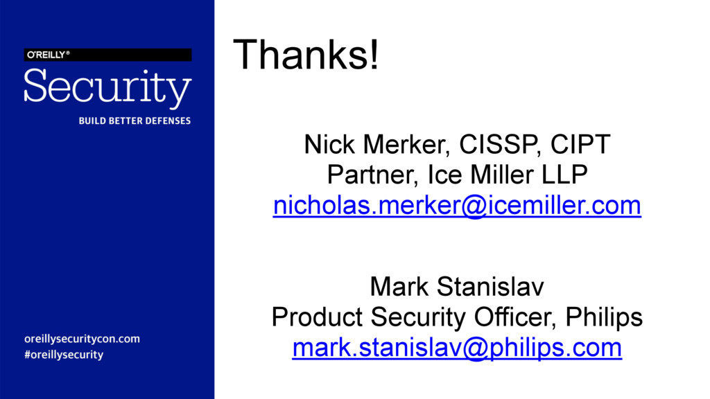 Thanks! Mark Stanislav