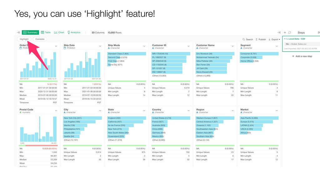 Yes, you can use 'Highlight' feature!