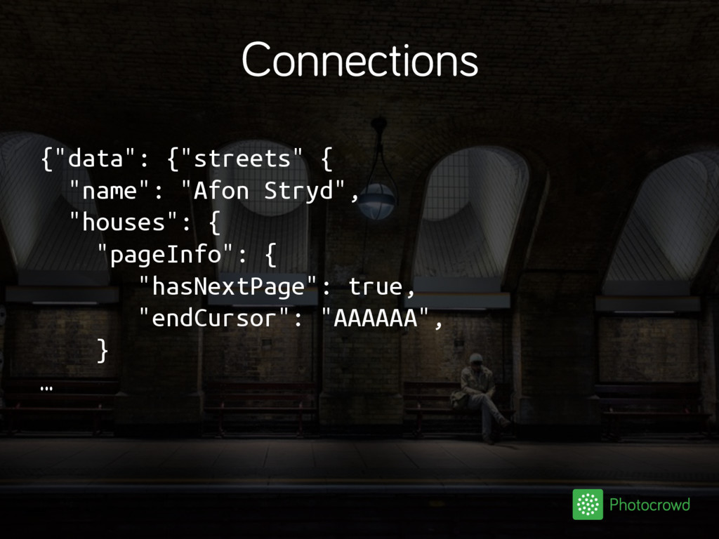 """Connections {""""data"""": {""""streets"""" { """"name"""": """"Afon..."""