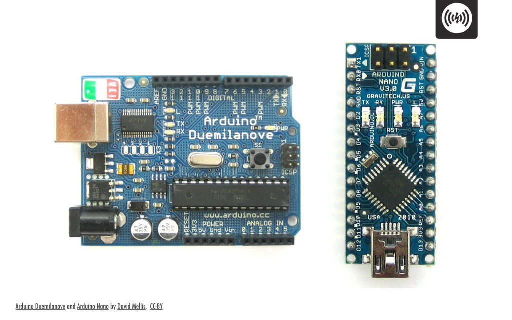 Arduino Duemilanove and Arduino Nano by David M...