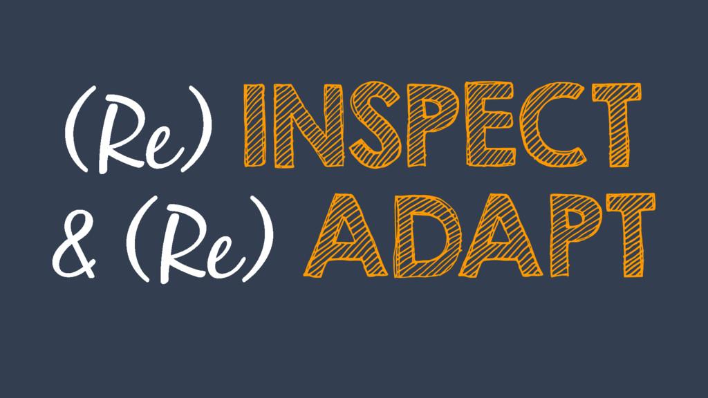INSPECT ADAPT