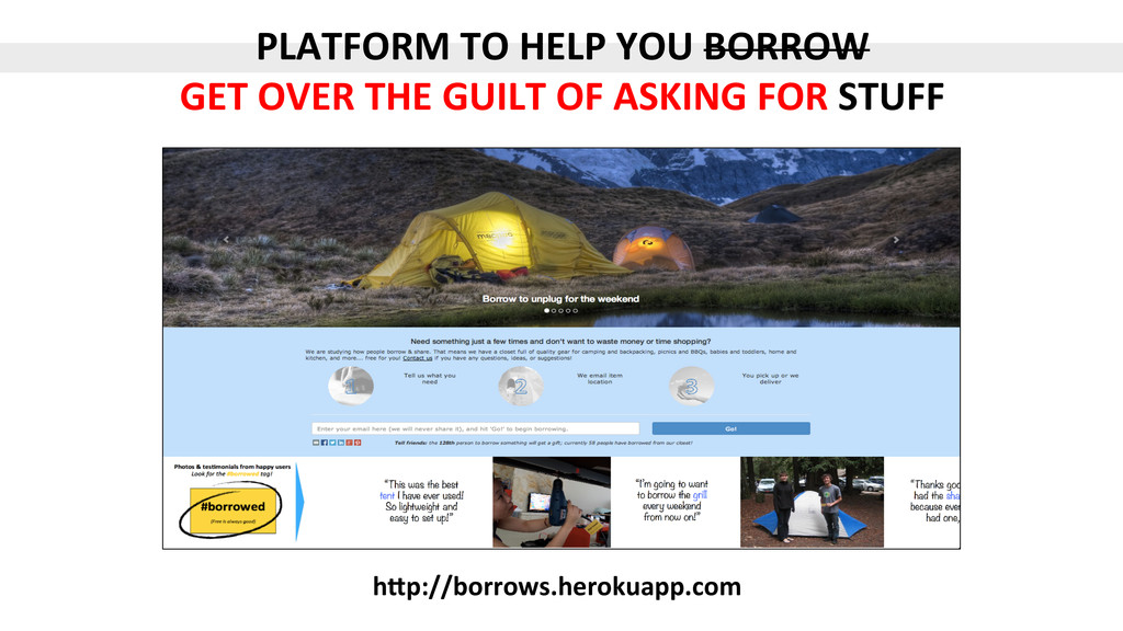 PLATFORM$TO$HELP$YOU$BORROW$ GET$OVER$THE$GUILT...